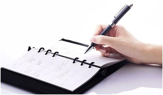 agenda-papel