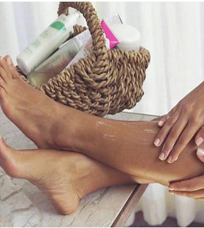 descolorir-pelos-perna